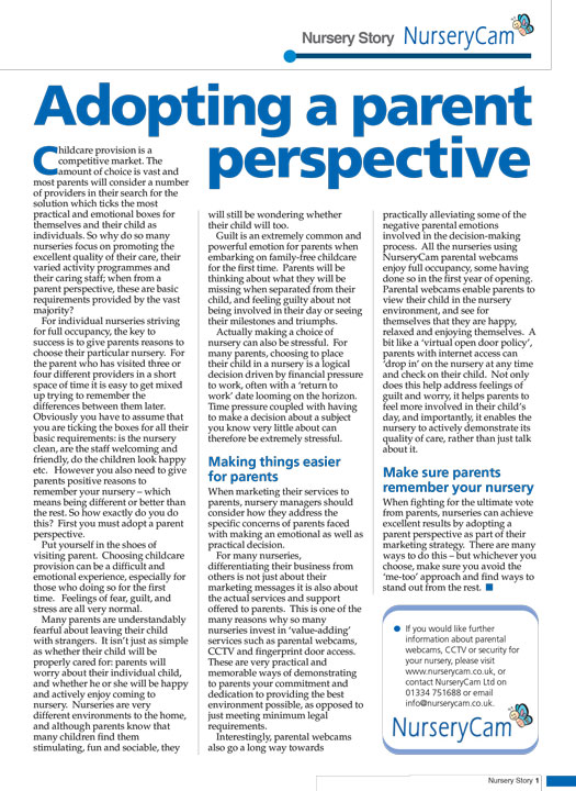 NMT Advertorial NurseryCam Adopting Parent Perspective